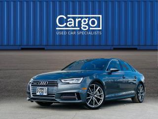 Used 2018 Audi A4 quattro Premium Plus for sale in Stratford, ON
