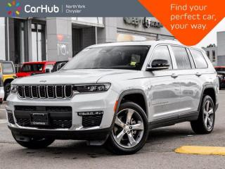 New 2021 Jeep Grand Cherokee L Limited 4x4 Luxury Tech Grp II Trailer Tow Grp Panoramic Roof for sale in Thornhill, ON