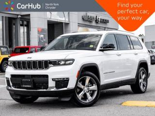 New 2021 Jeep Grand Cherokee L Limited 4x4 Luxury Tech II & Tow Grps 10.1'' Display for sale in Thornhill, ON
