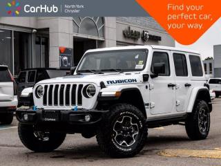New 2021 Jeep Wrangler Unlimited Rubicon 4xe Heated Leather Seats Alpine Sound for sale in Thornhill, ON