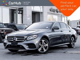 Used 2018 Mercedes-Benz E-Class E 400 4MATIC Burmester Heated Massage Seats for sale in Thornhill, ON