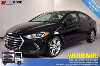 Used 2017 Hyundai Elantra GLS for sale in Mississauga, ON