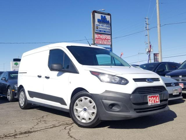 2014 Ford Transit Connect No Accidents |XL w-Single Sliding Door| Certified