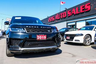 Used 2019 Land Rover Range Rover Sport HSE|ACCIDENT FREE|BACKUP CAM|LEATHER|PANORAMIC ROO for sale in Brampton, ON