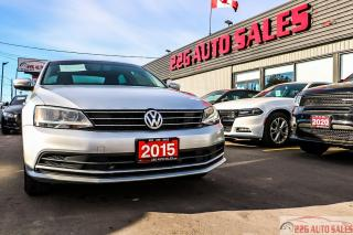 Used 2015 Volkswagen Jetta TRENDLINE+|BACKUP CAMERA|BLUETOOTH|TRACTION CONTRO for sale in Brampton, ON