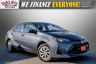 Used 2017 Toyota Corolla LE / HEATED SEATS / LOW KMS / POWER LOCKS & WINDOW for sale in Hamilton, ON
