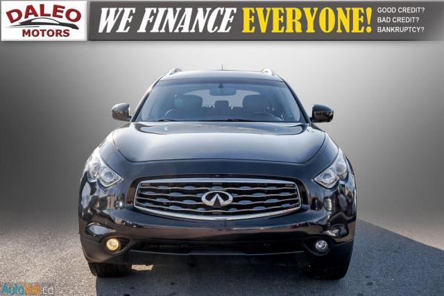2010 Infiniti FX35 BACK UP CAM / LEATHER / HEATED & COOLED SEATS/ NAV Photo2