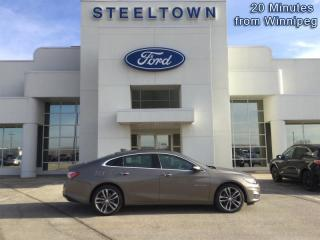 Used 2020 Chevrolet Malibu Premier  -  Leather Seats for sale in Selkirk, MB