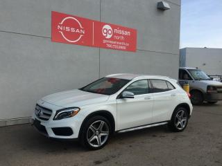 Used 2017 Mercedes-Benz GLA AWD/BLIND SPOT/ADAPTIVE CRUISE/NAVIGATION/KEY LESS ENTRY for sale in Edmonton, AB
