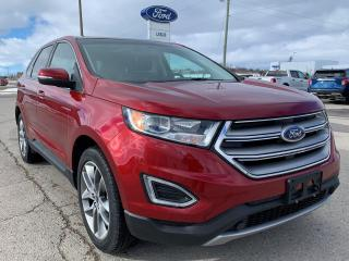 Used 2018 Ford Edge Titanium for sale in Harriston, ON
