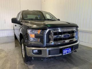 Used 2015 Ford F-150 XLT w/3.5L ECOBOOST AND ONE LOCAL OWNER!! for sale in Huntsville, ON