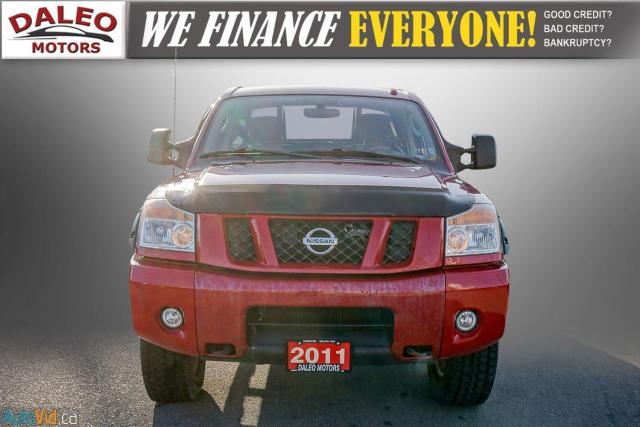 2011 Nissan Titan AWD / POWER DRIVER SEAT & WINDOWS / LOW KMS Photo3