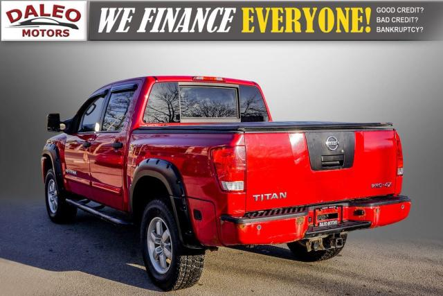 2011 Nissan Titan AWD / POWER DRIVER SEAT & WINDOWS / LOW KMS Photo6