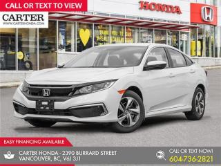 New 2021 Honda Civic LX for sale in Vancouver, BC