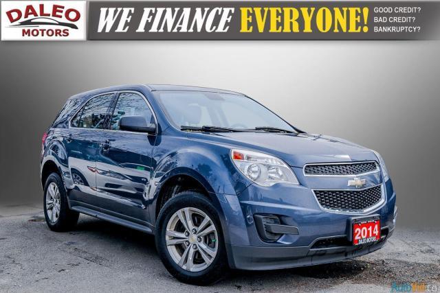 2014 Chevrolet Equinox LS / AWD / 5 PASSENGERS / POWER LOCK / POWER WIDOW