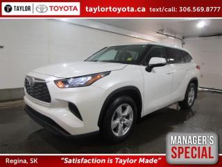 New 2020 Toyota Highlander LE Save $1500 for sale in Regina, SK