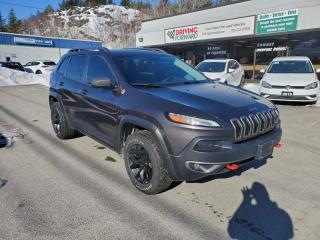 Used 2015 Jeep Cherokee Trailhawk for sale in Greater Sudbury, ON