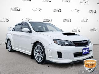Used 2013 Subaru WRX STI Manual/Navi/19 Wheels/AS IS for sale in St Thomas, ON