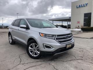 Used 2016 Ford Edge SEL|HTD SEATS| HTD STEERING WHEEL|NAV|PANO ROOF for sale in Leamington, ON