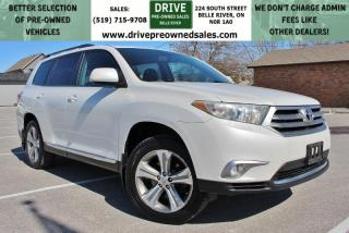 Used 2011 Toyota Highlander V6 AWD Heated Leather Sun Roof Bluetooth Backup Cam 3rd Row for sale in Belle River, ON