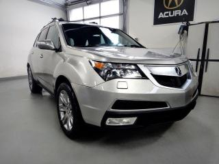 Used 2010 Acura MDX Elite Pkg,FULLY LOADED,NO ACCIDENT NAVI for sale in North York, ON