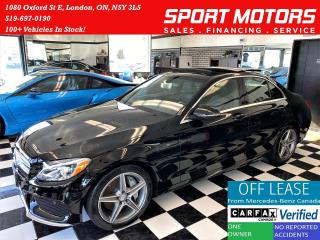Used 2017 Mercedes-Benz C-Class C300 4MATIC AMG PKG+Xenons+Camera+GPS+ACCIDENTFREE for sale in London, ON