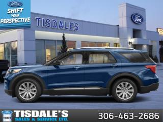 New 2021 Ford Explorer Limited  - Leather Seats -  Cooled Seats for sale in Kindersley, SK