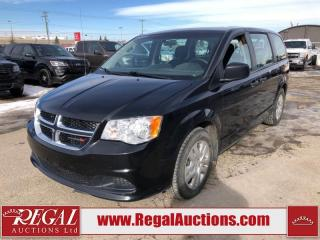 Used 2017 Dodge Grand Caravan CVP Wagon 3.6L for sale in Calgary, AB
