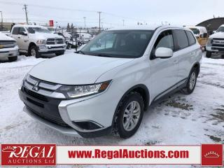 Used 2018 Mitsubishi Outlander ES 4D Utility AWD 2.4L for sale in Calgary, AB