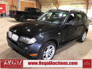 Used 2010 BMW X3 XDRIVE30I 4D Utility for sale in Calgary, AB