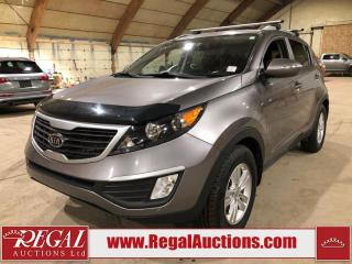 Used 2012 Kia Sportage 4D Utility FWD for sale in Calgary, AB