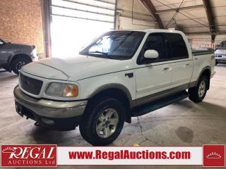 Used 2003 Ford F-150 LARIAT CREW CAB 4WD for sale in Calgary, AB