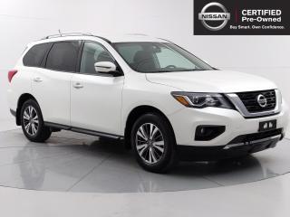 Used 2018 Nissan Pathfinder SV Tech Accident Free, Navigation, Remote Start, Blind Spot Warning for sale in Winnipeg, MB