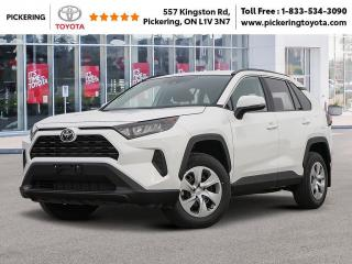 New 2021 Toyota RAV4 RAV4 LE AWD for sale in Pickering, ON