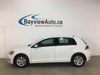 Used 2019 Volkswagen Golf 1.4 TSI Comfortline - AUTO! REVERSE CAM! ALLOYS! 25,000KMS! for sale in Belleville, ON