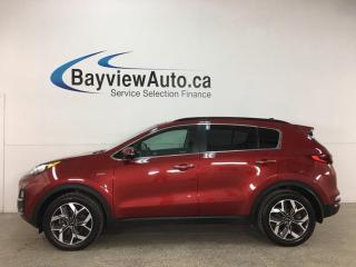 Used 2020 Kia Sportage EX - AWD! HTD LEATHER! PANOROOF! + MUCH MORE! for sale in Belleville, ON