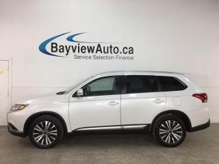 Used 2019 Mitsubishi Outlander ES - AWD! 7PASS! REVERSE CAM! SUNROOF! 1/2 LEATHER! + MORE! for sale in Belleville, ON