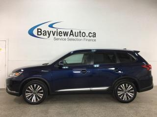 Used 2019 Mitsubishi Outlander ES - AWD! 7PASS! SUNROOF! REVERSE CAM! ALLOYS! for sale in Belleville, ON