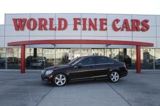 Used 2011 Mercedes-Benz C-Class Ontario! Rare Colour! 4-Matic for sale in Etobicoke, ON
