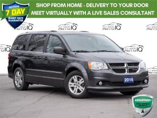 Used 2016 Dodge Grand Caravan Crew Stow and Go Seats | Back-Up Camera | Heated Seats for sale in St Catharines, ON