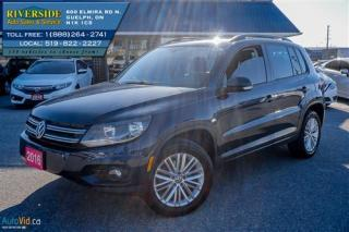 Used 2016 Volkswagen Tiguan R-LINE for sale in Guelph, ON
