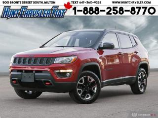 Used 2018 Jeep Compass TRAILHAWK | 4X4 | LEATHER | COLD WTHR | NAV | PANO for sale in Milton, ON