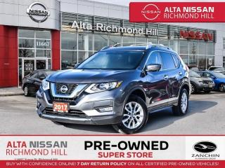 Used 2017 Nissan Rogue SV Tech PKG   360 CAM   BSW   PWR Liftgate   Navi for sale in Richmond Hill, ON