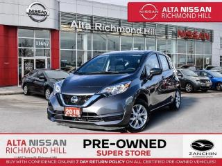 Used 2018 Nissan Versa Note SV   Rear CAM   Keyless Entry   Alloy   Bluetooth for sale in Richmond Hill, ON