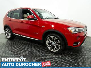 Used 2015 BMW X3 XDrive28i - AWD - CUIR - TOIT OUVRANT for sale in Laval, QC