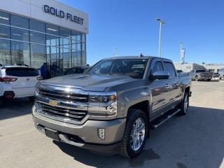 Used 2017 Chevrolet Silverado 1500 BROWN LEATHER!! for sale in North Bay, ON