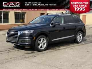 Used 2017 Audi Q7 3.0T PREMIUM NAVIGATION/PANORAMIC SUNROOF/7 PASS for sale in North York, ON