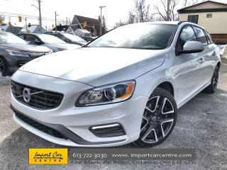Used 2018 Volvo V60 T5 Dynamic POLESTAR OPTIMIZATION!! LEATHER  ROOF for sale in Ottawa, ON