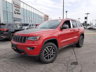 New 2021 Jeep Grand Cherokee TRAILHAWK HEMI TOW PKG PANOSUNROOF LEATHER for sale in Pickering, ON