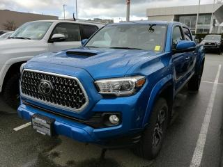 Used 2018 Toyota Tacoma TRD Sport Upgrade, Certified, No Accidents for sale in North Vancouver, BC